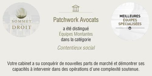 Patchwork Avocats à la 20ème édition des Trophées du Droit