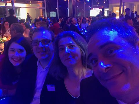Patchwork soirée Trophées du Droit 2020