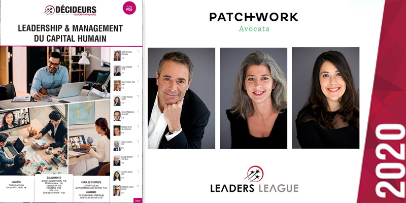 Avocats Décideurs 2020 Leaders League