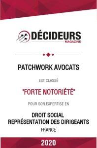 avocats droit social dirigeants